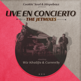 Wiz Khalifa, Curren$y & Cookin' Soul - Live en Concierto