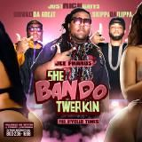 500 Degreez Ent. - She Bando Twerkin (WorldClass Djs) Cover Art