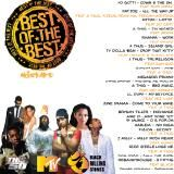 A-Thug - BEST OF THE BEST -MEGASTAR MIXTAPE -VOL 1 Cover Art