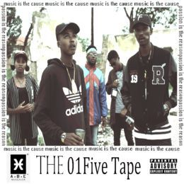 Abstrakt Bomb Ent. - The 01Five Tape Cover Art