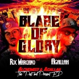 Agallah Don Bishop - Blaze Of Glory Cover Art