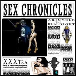 Akinyele The Blk.Night - SEX CHRONICLES Cover Art