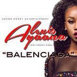 Alexis Ayaana - Balenciaga Cover Art
