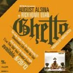 August Alsina - Ghetto ft. Rich Homie Quan (Main)