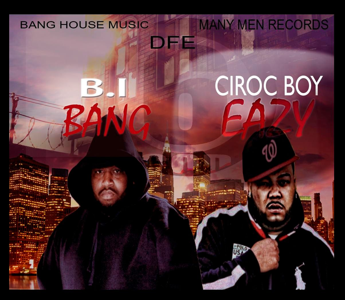 B i bang 6 god freestyle ft ciroc boy eazy allout for Banging house music