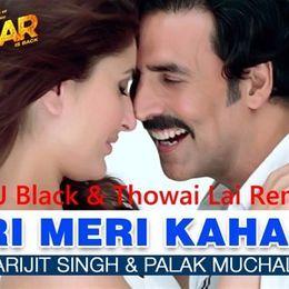 Bollywood 4 Djs - Teri Meri Kahani (DJ Black & Thowai Lai Remix) Cover Art