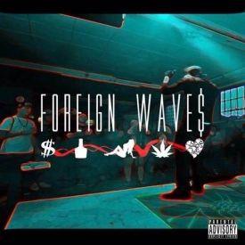 Bo$quiat Clique - Foreign Waves Cover Art