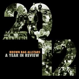 Brown Bag AllStars - 2012: A Year in Review Cover Art