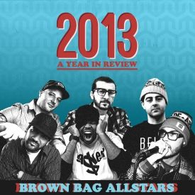 Brown Bag AllStars - Brown Bag AllStars 2013: A Year in Review Cover Art