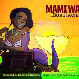 Caleb Iboro Hanson - Mami Water (Prod Black Intelligence) Cover Art