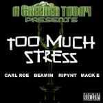 Carl Roe - Too Much Stress ft Carl Roe, Beamin, Ripynt, Mack E Cover Art