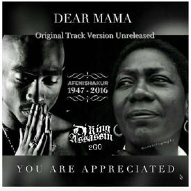 tupac amaru shakur dear mama Tupac amaru shakur (june 16, 1971 – september 13, 1996), also known by his stage names 2pac and briefly as makaveli, was an american rapper and actor shakur has sold over 75 million albums worldwide as of 2010, making him one of the best-selling music artists in the world.