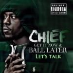 chief24c - lets talk Cover Art