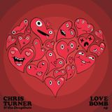 Chris Turner - LOVE BOMB, the EP Cover Art