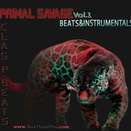 Clas P Beats - Primal Savage Vol.1 Beats & Instrumentals  Cover Art