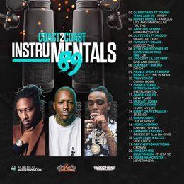 Coast 2 Coast Mixtapes - Coast 2 Coast Instrumentals Vol. 89 Cover Art