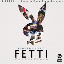 Certified Young Niggas - Fetti On Fetti (Feat. Ceo Lil Flash) Cover Art