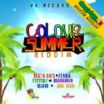 Dancehall.it - Colour Summer Riddim Medley Cover Art