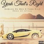DaQuon Da Don - Yeah That's Right (Prod. 2Tall) Cover Art