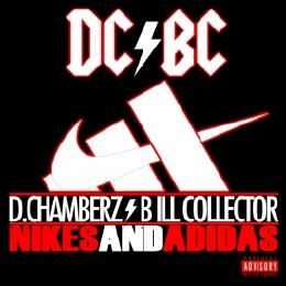 D.Chamberz - Nikes & Adidas Cover Art