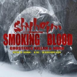 Deltron - SMOKING BLOOD Cover Art