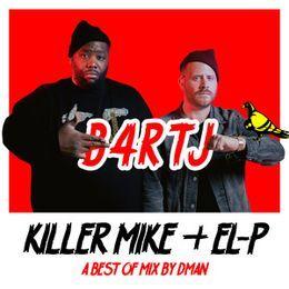 Deltron - Killer Mike & El-P Best of Mix Cover Art