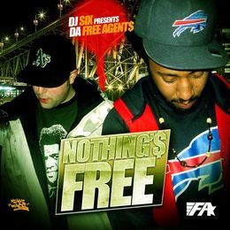 Deltron - Nothins FREE EP  Cover Art