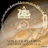 Diamond Media 360 - Voyager Records: Stranger Than Fiction Cover Art
