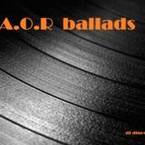 Dinos Athens - A.O.R ballads Cover Art