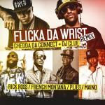DiverseHipHop - Flick Of The Wrist (Remix) (feat. Rick Ross, French Montana, Plies & Maino) Cover Art