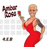 Dj Hunnit Wattz - Amber Rose (prod by 4EB) Cover Art