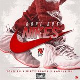 DJ 1Hunnit - Dope Boi NIkes Feat. Lil Dirty Black and Vauhjy Cover Art