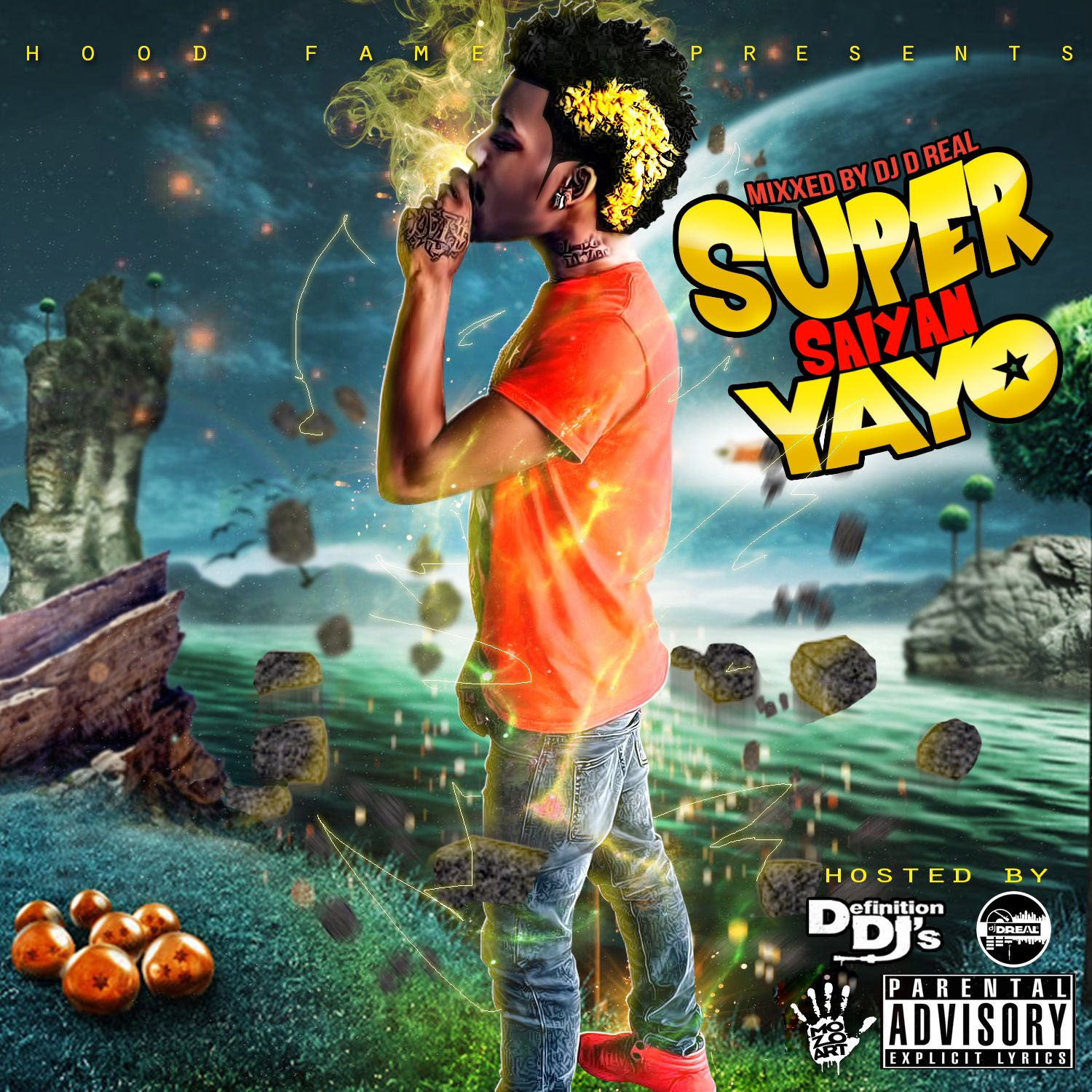 Go Yayo Quot Super Saiyan Quot Ft Mo3 Get Money Lil Ronnie Download Added By Dj D Real Audiomack