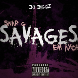 DJ Diggz - Savages Cover Art