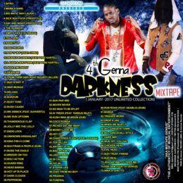 DJ DOTCOM (MIXTAPE GENIUS) - DJ DOTCOM_PRESENTS_AIDONIA_4TH GENNA DARKNESS_MIXTAPE (JANUARY -2017) Cover Art