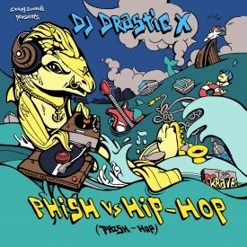 DJ Drastic X (Gravy Sounds) - Phish vs. Hip-Hop (Phish-Hop) Cover Art