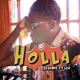 DJ Fly Guy - Holla ft LEA Cover Art