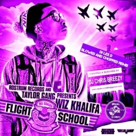 Wiz Khalifa - Flight School (SLOWED AND CHOPPED REMIX)