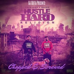 DJ Gutta - Hustle Hard Religion Cover Art