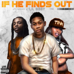 Dj hb smooth - If He Finds Out Cover Art