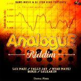 DJ LYON KING - Analogue Riddim - EP Cover Art