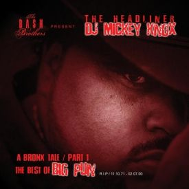DJ Mickey Knox - The Best of Big Pun (2005) Cover Art