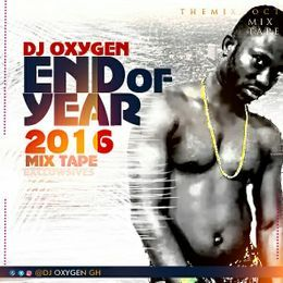 DJ OxygenGh - END OF YEAR (2016) MIXTAPE Cover Art