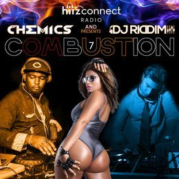 DJ Riddim - Combustion 7 | @djchemics @DJRiddim_ Cover Art