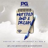 DJ RON G - NOTEPAD AND A DREAM Cover Art