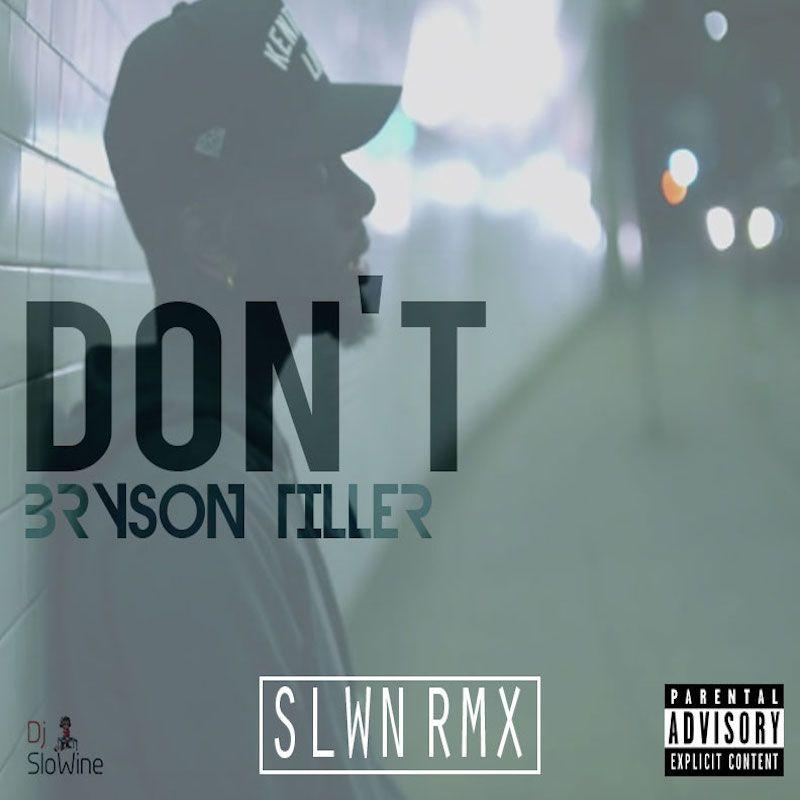 """Bryson Tiller Album Cover: Bryson Tiller (SLWN RMX)"""""""