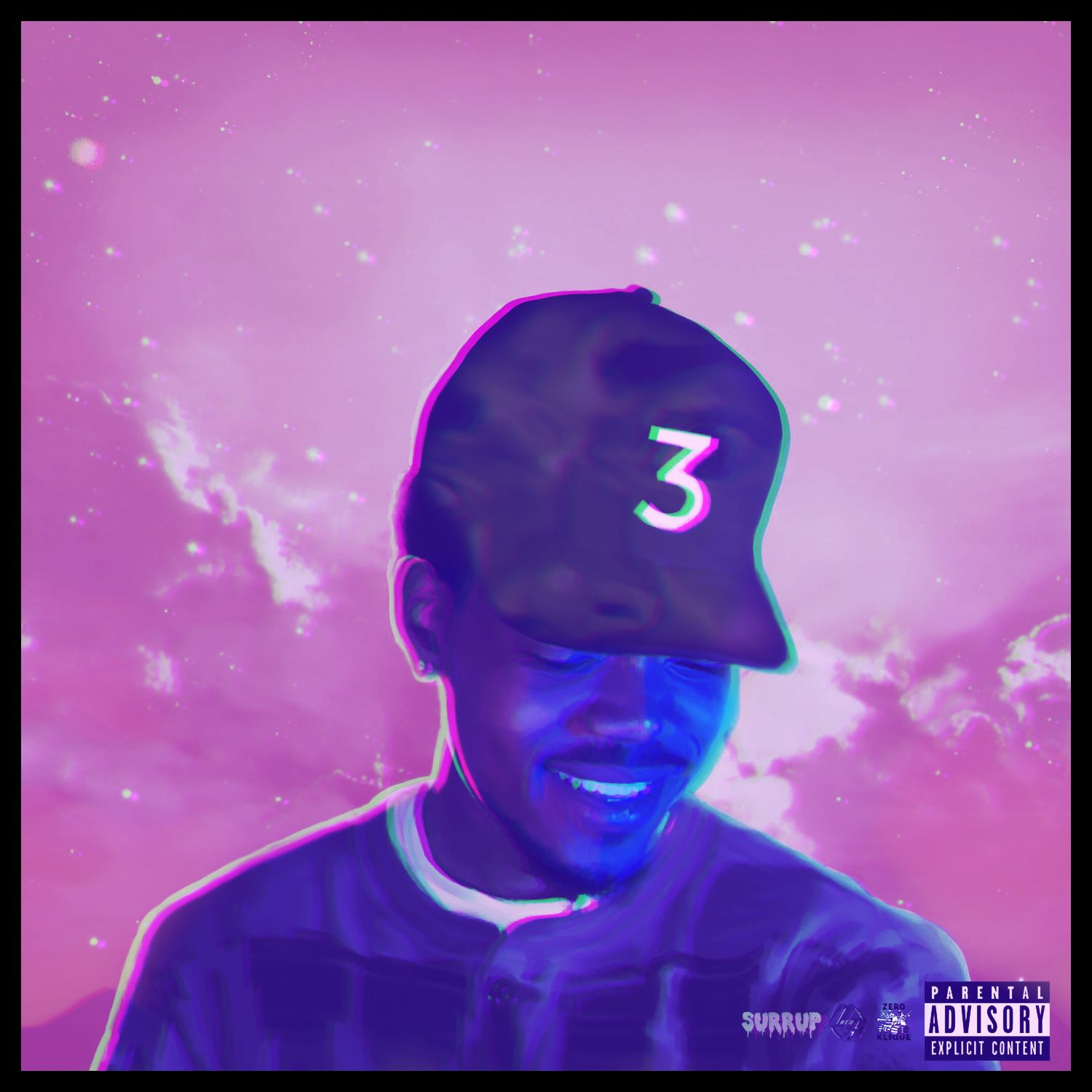 Coloring Book Chance Album Cover The Rapper Quot Purple Pages Ft