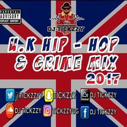 DJ TICKZZY - U.K HIP HOP & GRIME MIX 500,000 PLAYS SPECIAL MIX BY DJ @TICKZZYY Cover Art