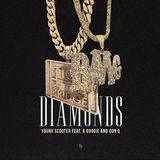 DJ WARFACE - Diamonds (Ft. A Boogie & Don Q) Cover Art