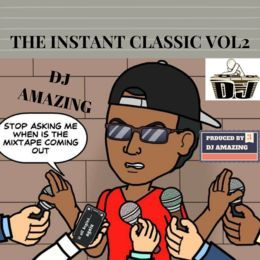 djamazing - THE INSTANT CLASSIC VOL 2 Cover Art